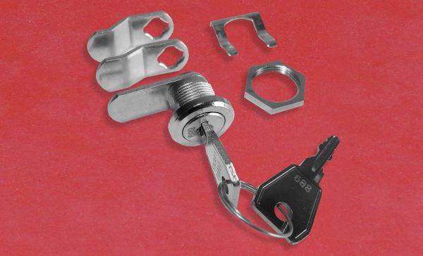EURO-LOCKS C330 Hebelschloss, Hebelzylinder, Türschloss, Spindschloss, Hebel, Anbauteile, Schlüssel