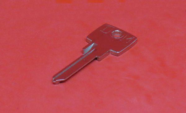 DOM 2H Schlüssel, Ersatzschlüssel, Nachschlüssel, Rohling nach Schlüsselnummer