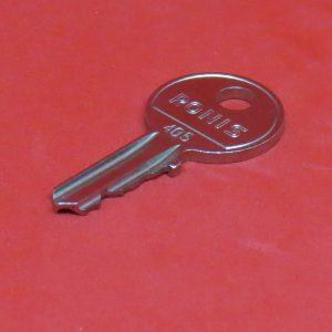 Schlüsselnummer, Schlüssel, Ersatzschlüssel, Nachschlüssel, Rohling, RONIS 405-421 bzw. 455-456