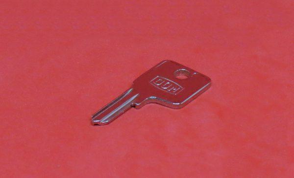 DOM 4A Rohling, Schlüssel, Nachschlüssel, Ersatzschlüssel nach Schlüsselnummer