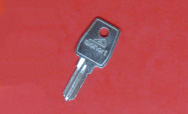 Biohort Schlüssel Rohling EURO-LOCKS, Ersatzschlüssel, Nachschlüssel nach Schlüsselnummer