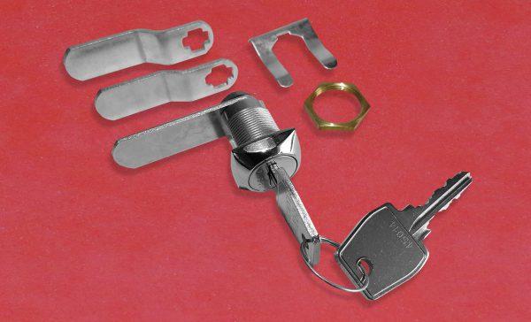 EURO-LOCKS 0804 Hebelschloss, Hebelzylinder, Türschoss, Spindschloss, Schlüssel, Anbauteile, Hebel, Befestigungsmaterial