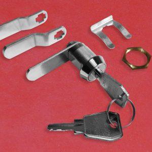 EURO-LOCKS B671 Hebelschloss, Hebelzylinder, Türschloss, Spindschloss, Hebel, Schlüssel