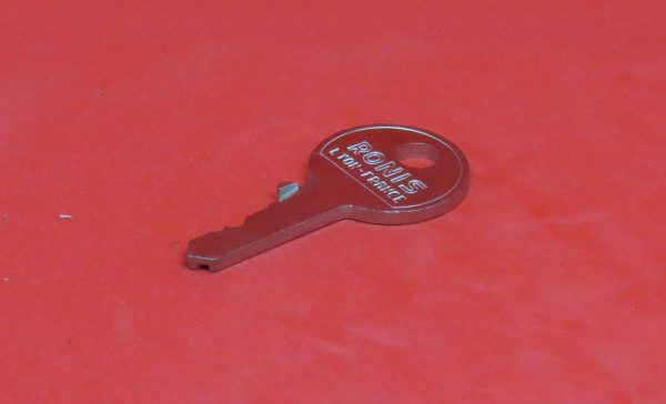 RONIS F Schlüssel, Schlüsselnummer, Rohling, Ersatzschlüssel, Nachschlüssel