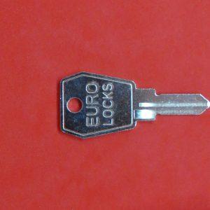 EURO-LOCKS K, Nachschlüssel, Ersatzschlüssel, Rohling, Schlüssel nach Schlüsselnummer 7001-9000