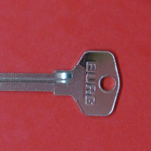 BURG V, Rohling, Schlüssel, Schlüsselkopf, Schlüsselnummer, Nachschlüssel, Ersatzschlüssel