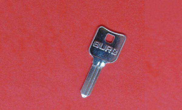 BURG Profil X, Nachschlüssel, Rohling, Ersatzschlüssel, Shlüssel, Schlüsselkopf, Schlüsselbart