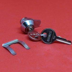 Hebelschloss RONIS 1112, Türschloss, Spindschloss, Hebelzylinder, Hebel, Anbauteile, Schlüssel